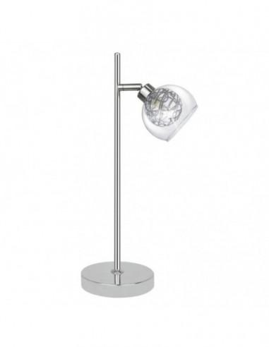 Lámpara sobremesa cromo Floki 10404...