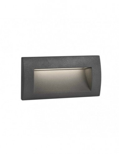 Empotrable exterior Sedna-2 Led, gris...