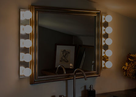 Lámparas para espejo
